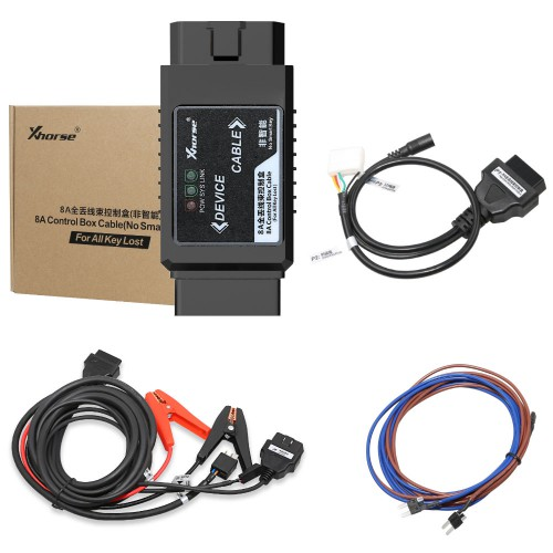 [UK Ship] Xhorse VVDI Key Tool Max + MINI OBD Tool + Toyota 8A All Keys Lost Adapter Get Free Renew Cable