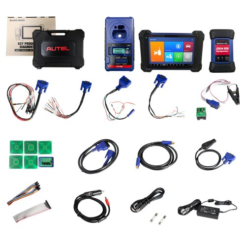 Original Autel MaxiIM IM608 Key Programmer Full Version with APB112 Smart Key Simulator and G-BOX2