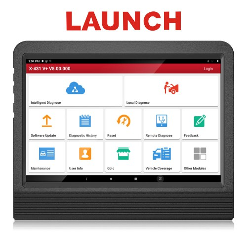 [US/UK Ship] Launch X431 V+ Wifi/Bluetooth 10.1inch Tablet Global Version 2 Years Update Online