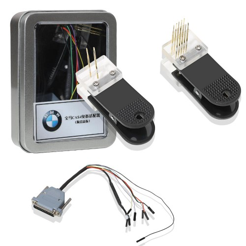 [US Ship] BMW CAS4 Data Reading Socket + Clip + Wire Suitable for VVDI PROG Programmer No need Disassembling