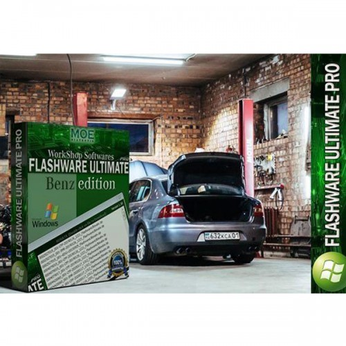 Flashware Ultimate Pro and CBFWare Ultimate Pro 1 Year Full Unlimited PRO Access (365 days) for All Mercedes Benz Workshop