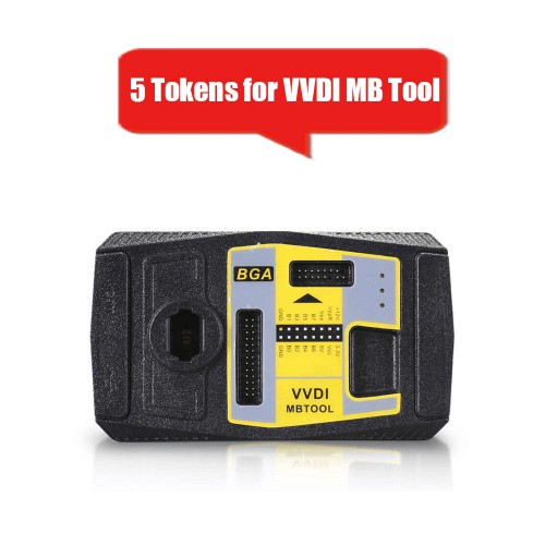 5 Tokens for VVDI MB TOOL BENZ Password Calculation