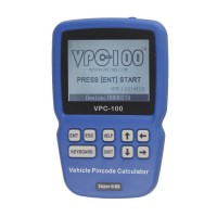 VPC-100 Hand-Held Vehicle Pin Code Calculator With 500 Tokens Update Online