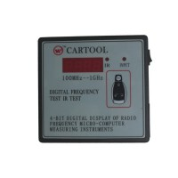 CARTOOL Digital Frequency Tester IR Tester Remote Key Frequency Tester (Frequency Range 100-500MHZ)