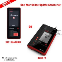 One Year Online Update Service for X431 Diagun III/X431 IV/X431 V/X431 V+