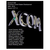 SCANIA DEVELOPER Software (XCOM-SOPS-Scania SDP3-BNS II) Support Win XP/Vista/7/8