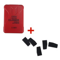 Toyota G Chips Cloner Box Use for CN900 Plus 5pcs CN5 Toyota G Chip