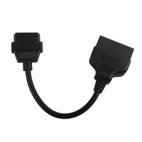 TOYOTA 22Pin to 16Pin OBD1 to OBD2 Connect Cable Free Shipping