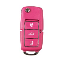 XHORSE Volkswagen B5 Style Color Special Remote Key 3 Buttons (Red, Yellow, Blue and Green) X001-02 X001-03 5pcs/lot