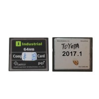 2017.1V 64MB TF Card for Toyota IT2 (Toyota/Suzuki/Blank Card Available for Choose)