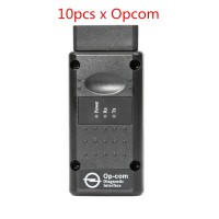 10pcs New Opcom 2014V Can OBD2 For Opel Firmware V1.59