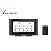 Original LAUNCH X431 PAD III PAD 3 V2.0 Global Version Full System Diagnostic Tool Support Coding and Programming Free Update Online for 3 Years