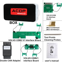 [3.28 Sale]Yanhua Mini ACDP Module12 Volvo Key Programming Support Add Key & All Key Lost from 2009-2018