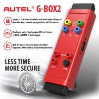 [US/UK Ship] 100% Original Autel G-BOX2 Tool for Mercedes Benz All Key Lost Work with Autel MaxiIM IM608/IM508