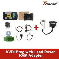 【Promotion】Original V5.0.0 Xhorse VVDI PROG Programmer with Land Rover KVM Adapter without Soldering