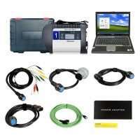 DOIP MB SD C4 Star Diagnosis with 2020.3V 256GB SSD Plus Dell D630 Laptop 4GB Memory Software Installed Ready to Use