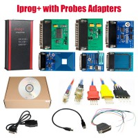 [UK Ship] V84 Iprog+ Pro Programmer with Probes Adapters for in-circuit ECU Free Shipping