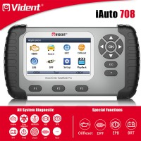 [US/EU Ship] VIDENT iAuto708 Full System Scan Tool OBDII Scanner OBDII Diagnostic Tool for All Makes