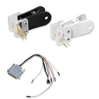 BMW CAS4 Data Reading Socket + Clip + Wire Suitable for VVDI PROG Programmer No need Disassembling