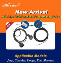 Pre-order Lonsdor JCD 2-in-1 Multifunctional Programming Cable for Jeep/Chrysler/Dodge/Fiat/Maserati Work with K518ISE