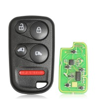 Xhorse XKHO04EN Wire Remote key Honda Separate 4 Buttons with Sliding Door Button English Version 5pcs/lot