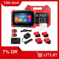 [7% Off $371.07] Newest XTOOL X100 PAD Key Programmer With Oil Rest Tool Odometer Adjustment and More Special Functions Ship from US/UK