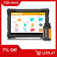 [7% Off $259.47] Humzor NexzDAS Pro Bluetooth 10inch Tablet Full System Auto Diagnostic Tool Professional OBD2 Scanner Ship from US/UK