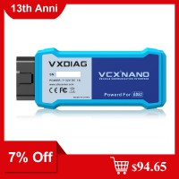 [7% Off $97.65] Wifi Vxdiag VCX Nano for Gm/Opel with V2020.7 GDS2 and Tech2Win Diagnostic Tool Ship from US/UK
