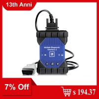 [7% Off $194.37] GM MDI 2 Multiple Diagnostic Interface with Wifi Card Ship from UK
