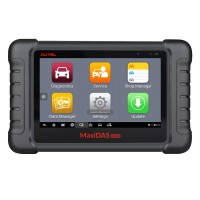 [US Ship] Original Autel MaxiDAS DS808K Tablet Diagnostic Tool Full Set Support Injector Coding & Key Coding