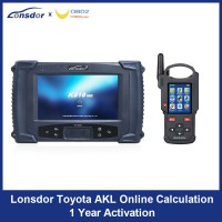 Lonsdor Toyota AKL Online Calculation 1 Year Activation for K518ISE K518S & KH100+ Support Latest Toyota & Lexus All Key Lost and Add Key