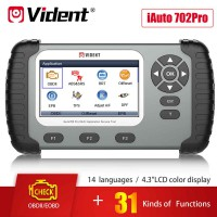 [On Sale] VIDENT iAuto 702 Pro Multi-Applicaton Service Tool with 31 Special Functions 3 Years Free Update Online Ship from US/UK/EU