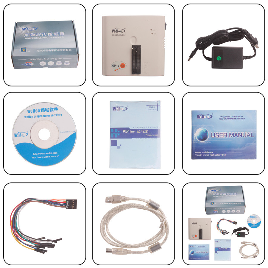 Wellon GP-2 Programmer Package Details