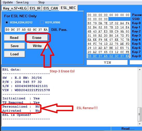 Original Mercedes NEC PRO57 key programmer 3