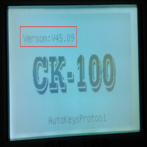 Latest CK100 Software 1