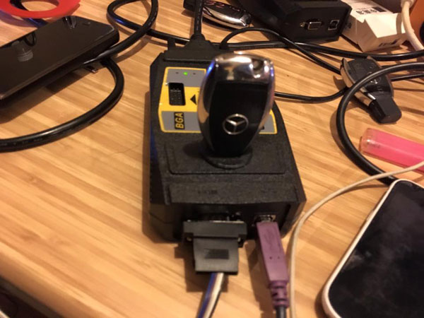 VVDI MB Tool Bag Connection Picture 3