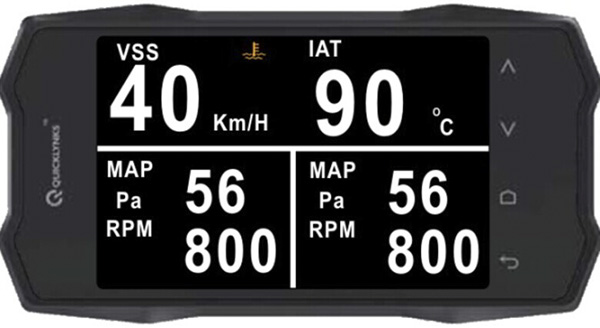 Turbogauge VI Auto Trip Monitor Display 2