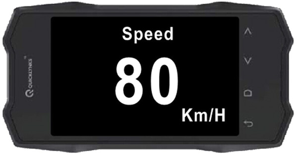 Turbogauge VI Auto Trip Monitor Display 1