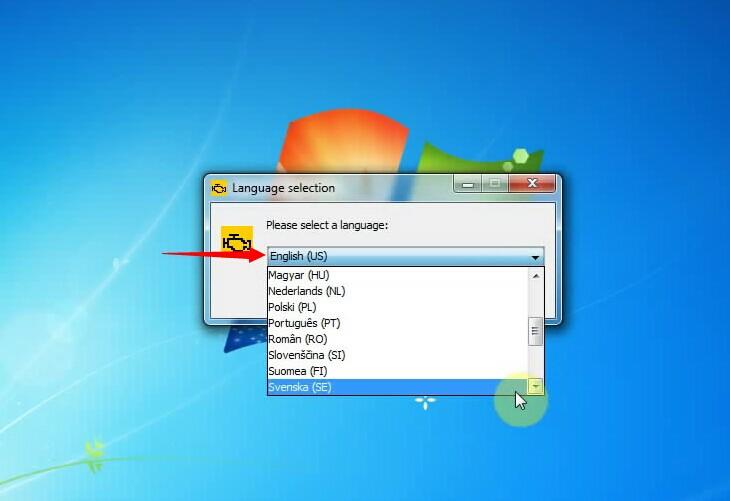 Language Select Display 1