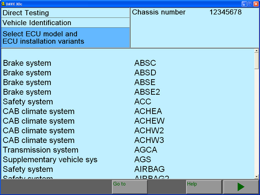 DAF VCI lite (V1) Software 2
