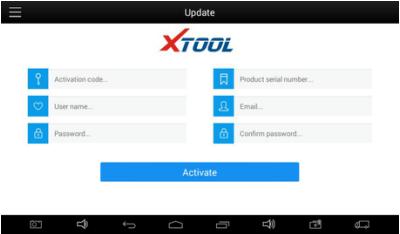 X100 PAD2 Registration