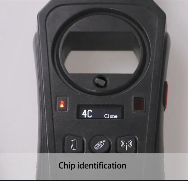 KEYDIY KD-X2 4C chip identification