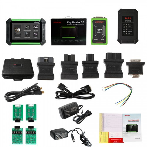 OBDSTAR X300 DP PAD Key Master Tablet Key Programmer Standard Configuration Support Toyota G & H Chip All Key and BMW FEM/BDC Key Programming