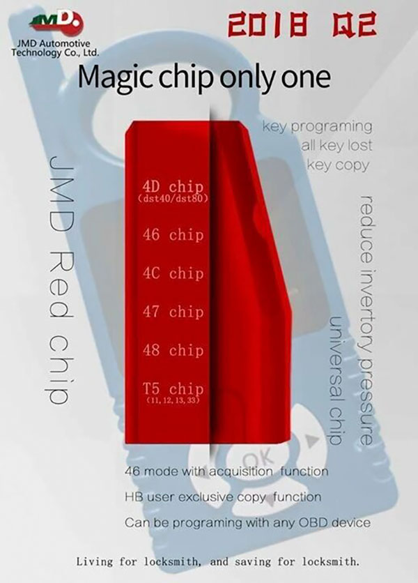 Original Handy Baby JMD Red Chips