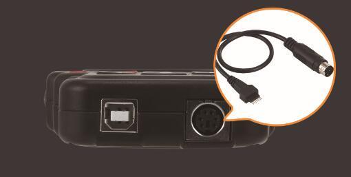 Connecteur dédié Lonsdor KH100 pour générer une clé à distance