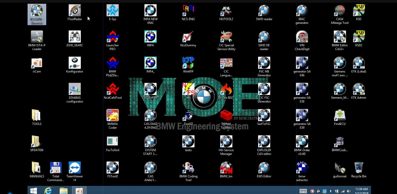 MOE BMW All Engineering System 60 BMW Software