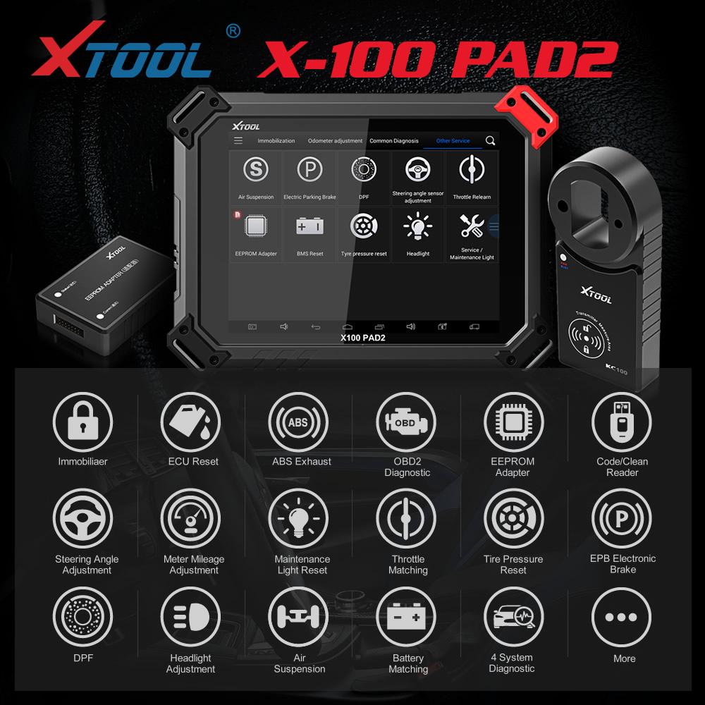 xtool x100 pad2 pro function