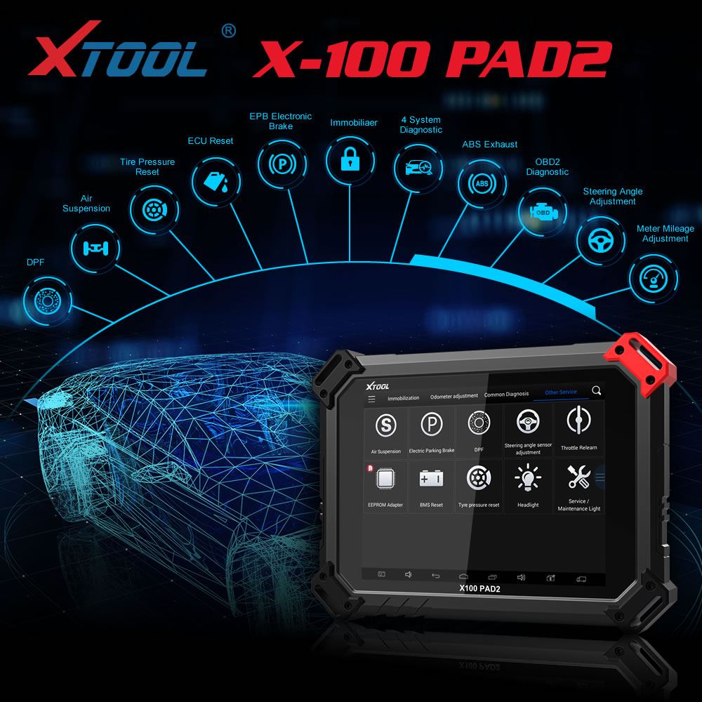 xtool x100 pad2 pro special function