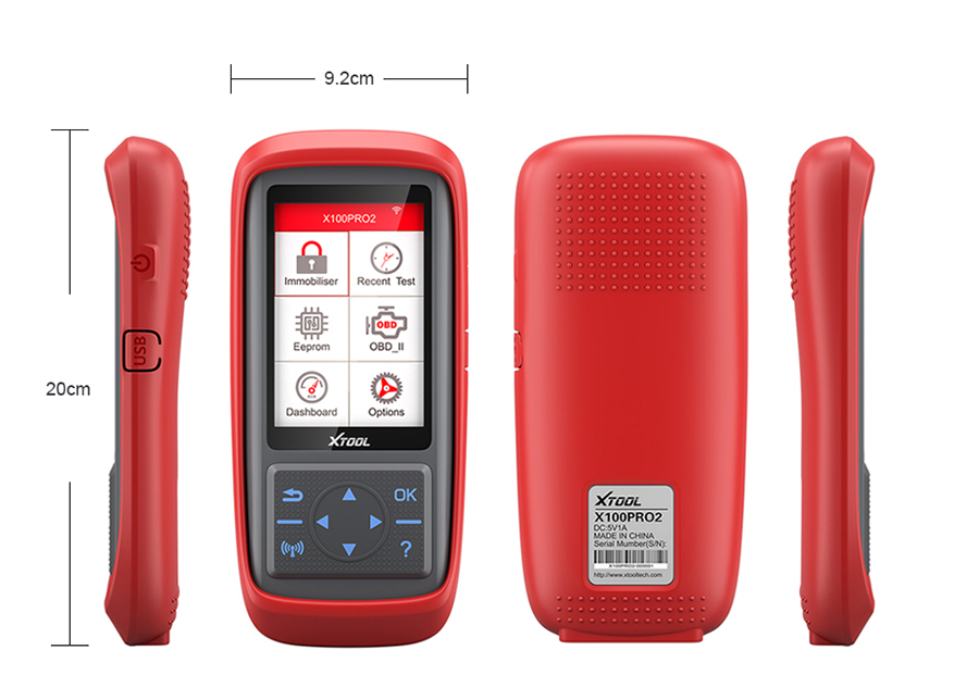 XTool X100 Pro2 Specification