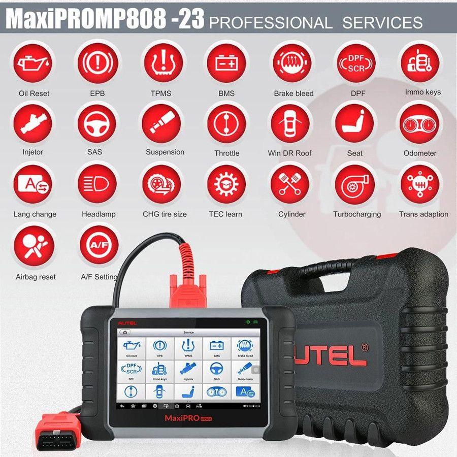 Autel MaxiPRO MP808K service function